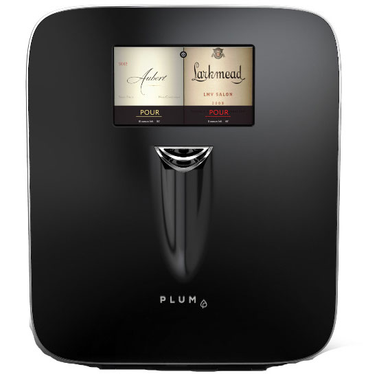 Plum is a new fully automatic wine device that preserves, chills and serves wine by the glass at the ideal serving temperature - Beverage Industry