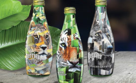 Perrier Sparkling Mineral Water launched a new limited-edition collection: PERRIERxWILD. The limited-edition glass bottles were designed by New York-based artist Juan Travieso - Beverage Industry