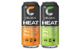 Celsius Heat Cans - Beverage Industry