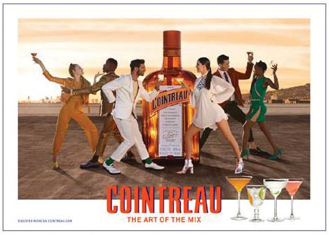 Cointreau, the orange liquor brand, launched a new global campaign, The Art of the Mix. - Beverage Industry