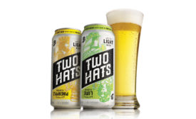 Two Hats is a new line of light beers brewed with a hint of natural flavor - Beverage Industry
