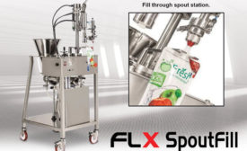 Alliedflex Technologies Inc. announced the release of its newest pouch-filling machine: the FLX SpoutFill - Beverage Industry