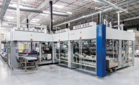 Krones manufactures Varioline, a robotic pick-and-place packer - Beverage Industry