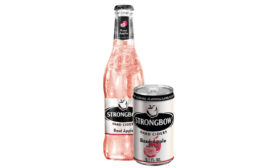 Strongbow Rosé Apple offers the brand a chance to attract wine consumers, HEINEKEN USA's Jessica Robinson says. (Image courtesy of HEINEKEN USA) - Beverage Industry