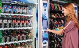 Crane Merchandising Systems' Vending Machine - Beverage Industry
