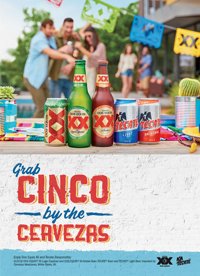 In the spirit of Cinco de Mayo, Heineken USA has rolled out a new campaign with its Mexican import brands: Dos Equis and Tecate. - Beverage Industry