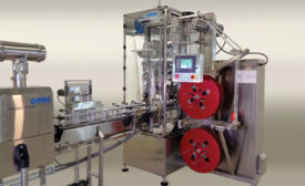 PDC International Corp. introduced the R-100, its latest shrink labeler for applying shrink sleeves at moderate speed applications as fast as 120 containers a minute. - Beverage Industry