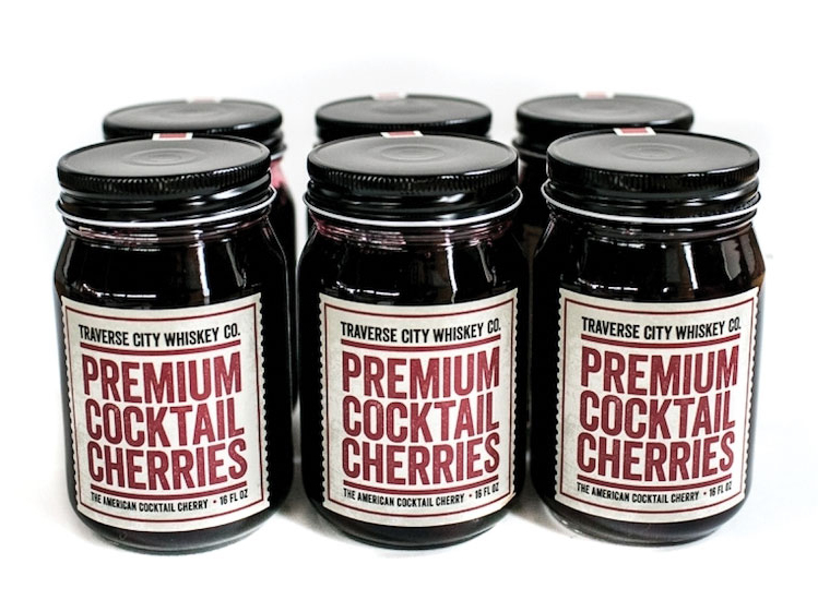 Traverse City Whiskey Co. (TCWC) recently added all-natural Premium Cocktail Cherries to its lineup. - Beverage Industry