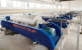 The Centrisys Corp. CNP THK sludge thickener machine. - Beverage Industry