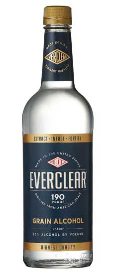 Everclear Grain Alcohol - Beverage Industry
