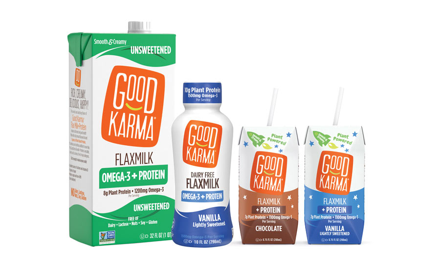Good Karma Flaxmilk Omega-3-  Beverage-Industry