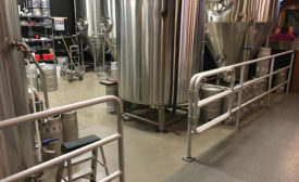 Superior Aluminum Railings - Beverage Industry