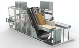 Brenton LLC, a product brand of ProMach, introduced its next generation intermediate case packer, the Brenton M2000. - Beverage Industry