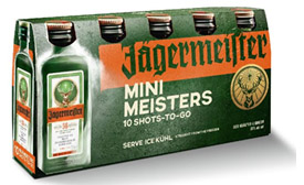 Jäger miniature shots - Beverage Industry