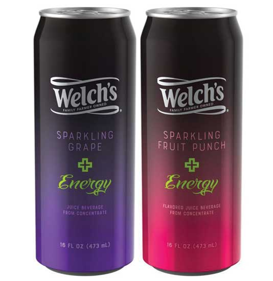Welch's Sparkling Plus Energy. - Beverage Industry