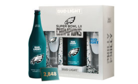 """Bud Light and the Philadelphia Eagles unveiled the limited-edition """"Philly Philly"""" commemorative packs. - Beverage Industry"""