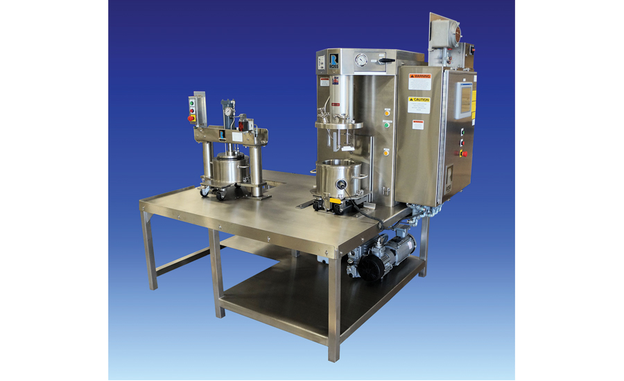 Charles Ross & Son Co. introduced a new triple shaft mixer design with a custom discharge turnkey system. - Beverage Industry