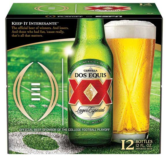 Dos Equis College Football - Beverage Industry