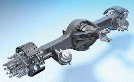 Kenworth Dana Spicer S140 single-reduction, single-drive axles. - Beverage Industry