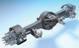 Kenworth Dana Spicer S140 single-reduction, single-drive axles. - Beverage Industry