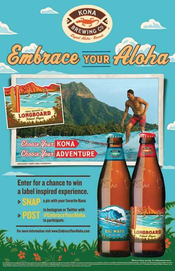 Kona Brewing Co. Embrace Your Aloha campaign - Beverage Industry