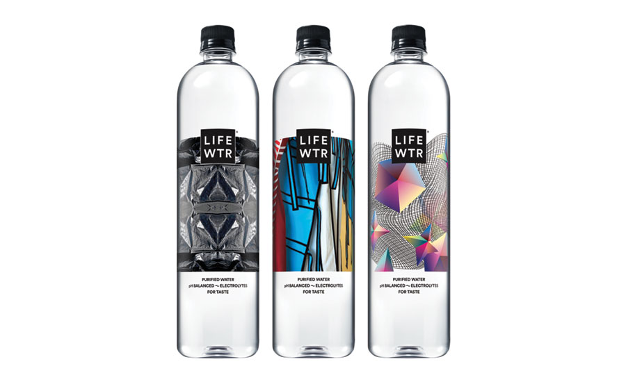 LIFEWTR fashion design bottles - Beverage Industry