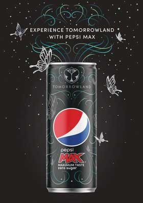 Pepsi MAX - Tomorrowland Campaign - Beverage Industry