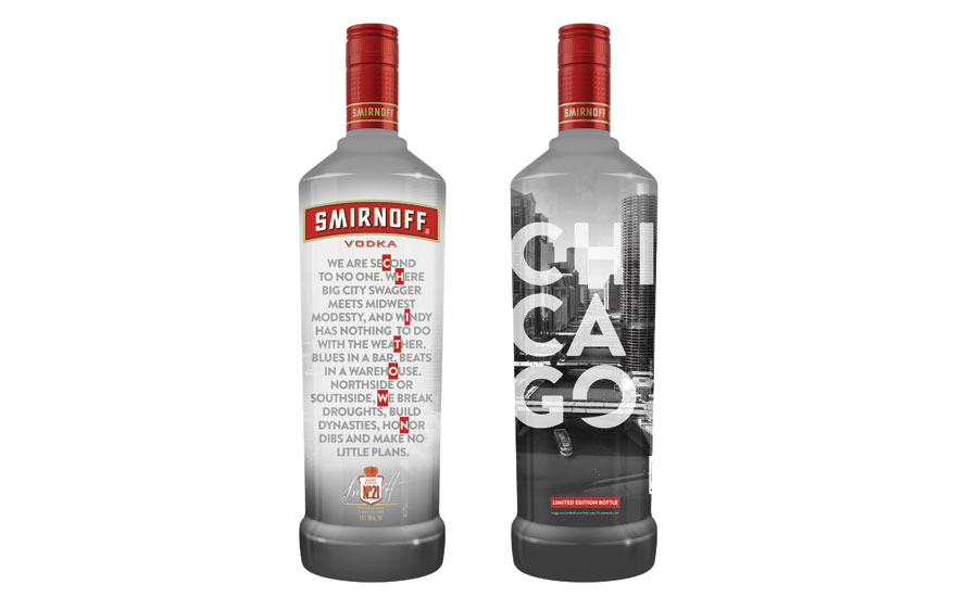 Smirnoff Chicago bottle - Beverage Industry