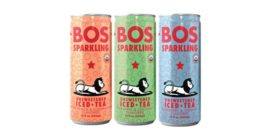BOS Brands Sparkling Iced Tea  -Beverage Industry