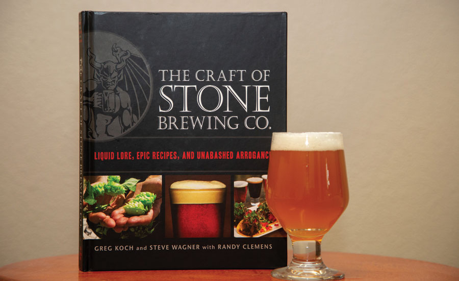 The Craft of Stone Brewing: Liquid Core, Epic Recipes, and Unabashed Arrogance, which explores the history of Stone Brewing. - Beverage Industry