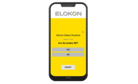 ELOKON ELOfleet forklift management system. - Beverage Industry