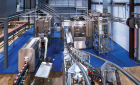 Krones Packaging Equipment Can Filler - Beverage Industry