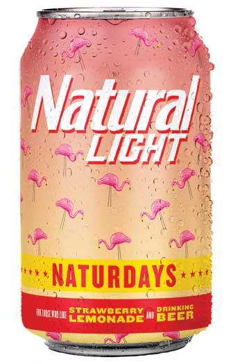 Natural Light aluminum can. - Beverage Industry