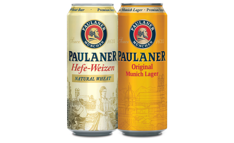 Paulaner launches new 16.9-ounce cans