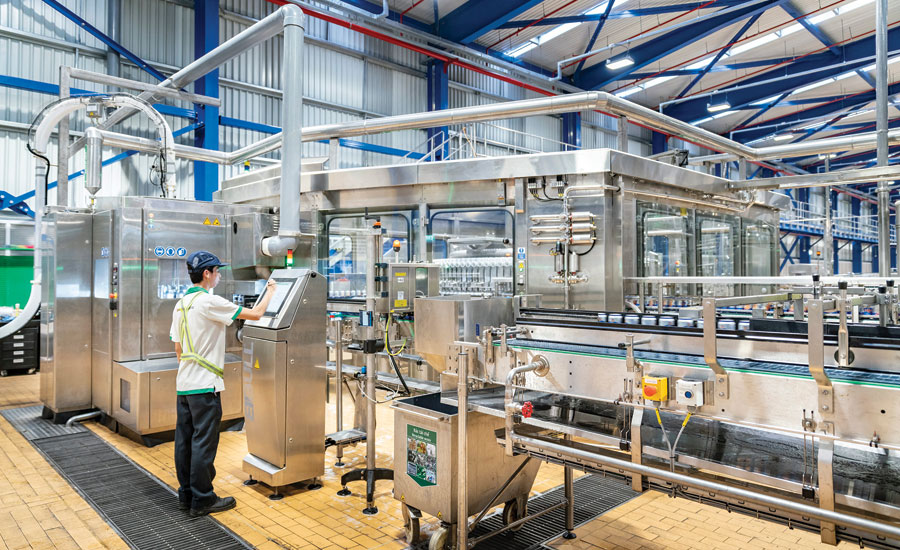 Sidel's EvoFILL can filler. - Beverage Industry