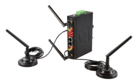 Antaira Technologies LLC ARS-7231-AC dual wireless radio with router capability. - Beverage Industry