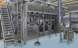 JBT Food & Dairy Systems BV AsepFlex linear pouch filler. - Beverage Industry