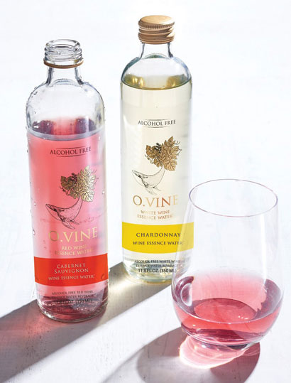 Wine Water Ltd., the parent company of O.Vine Inc., launched Chardonnay and Cabernet Sauvignon-essence water.