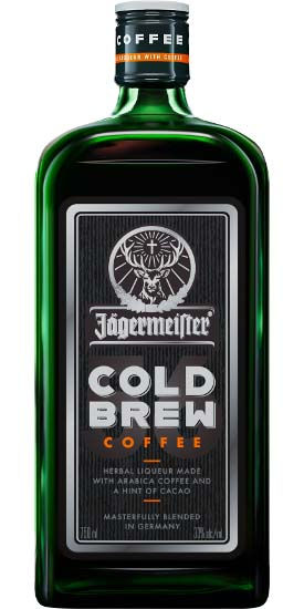 Jagermeister cold brew coffee.