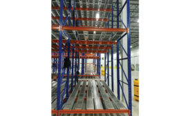 Distribution Technologies Racking System - Beverage Industry