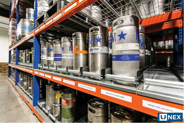 UNEX's Keg Flow System. - Beverage Industry