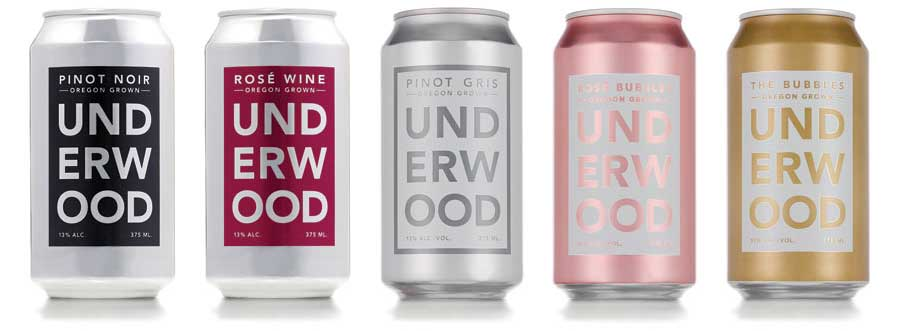 Underwood Canned Wine - Beverage Industry