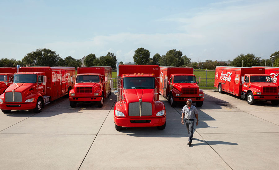 Coca-cola-bottling-fleet-beverage-industry