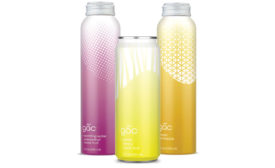 gấc line of health and beauty waters in 12-ounce slim cans. - Beverage Industry