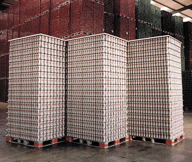 ORBIS beverage pallets. - Beverage Industry