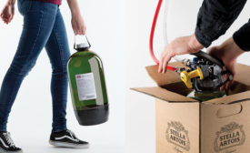 AB InBev's PureDraught, a one-way, polymer keg system. - Beverage Industry