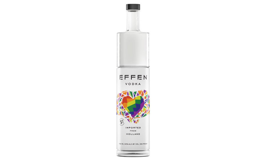 EFFEN Vodka released Pride bottle to support LGBTQ equality