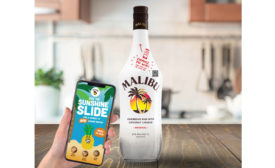 Malibu Rum Connected Bottle - Beverage Industry