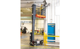 Toyota Material Handling USA AICHI Vertical Mast Lift - Beverage Industry