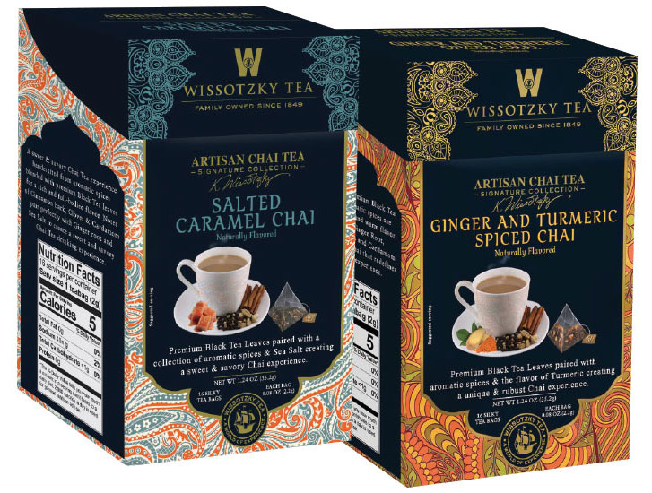 Wissotzky Tea's Artisan Spiced Tea collection. - Beverage Industry